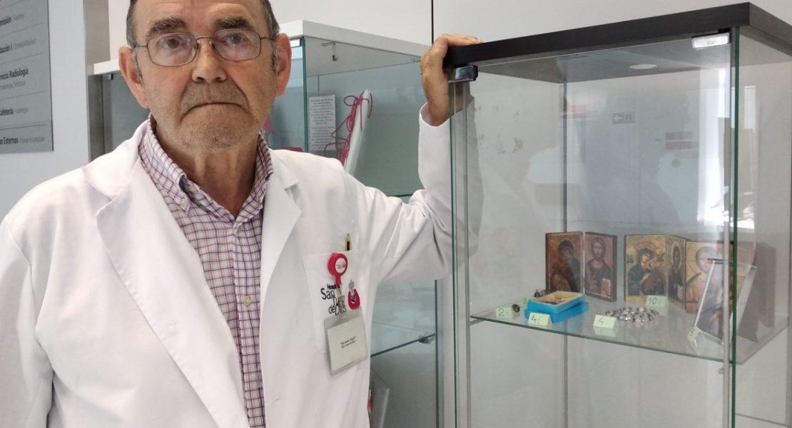 médico vitrina