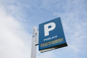 Cartel de parking
